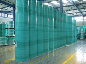 Film Wrapped Rolls, (Green) Fine Paper Warehouse