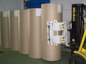 Kraft-Film Wrapped Rolls